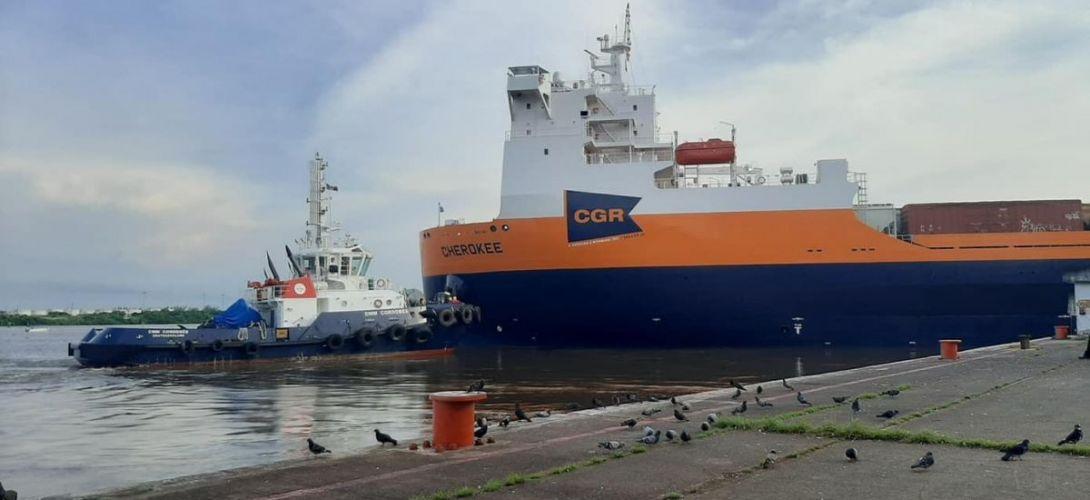 Llegada del ferrobuque Cherokee consolidará actividad portuaria en Veracruz: Toño Luna