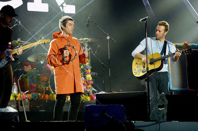 Liam y Noel Gallagher se reconcilian
