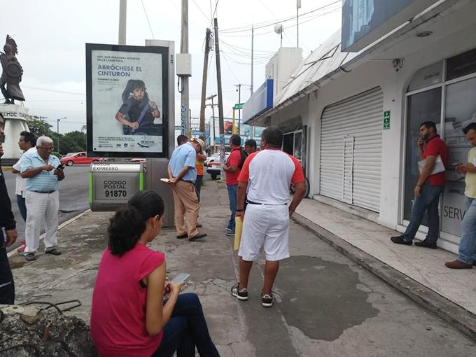 El Heraldo De Veracruz Sin Funcionar Módulo Para Expedir