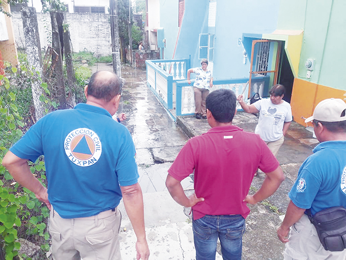 Alerta PC Tuxpan ante disturbio tropical