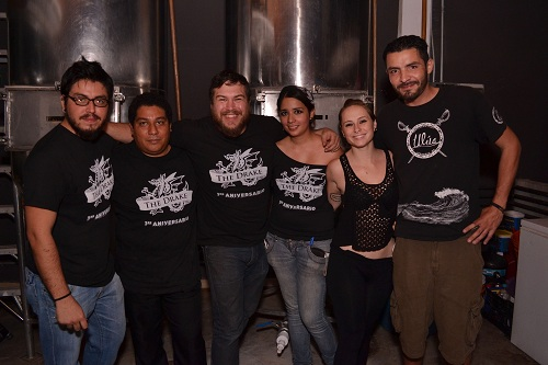 The Dreak beer house celebró su primer aniversario