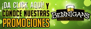 Banner - Bennigans 20-junio-2014